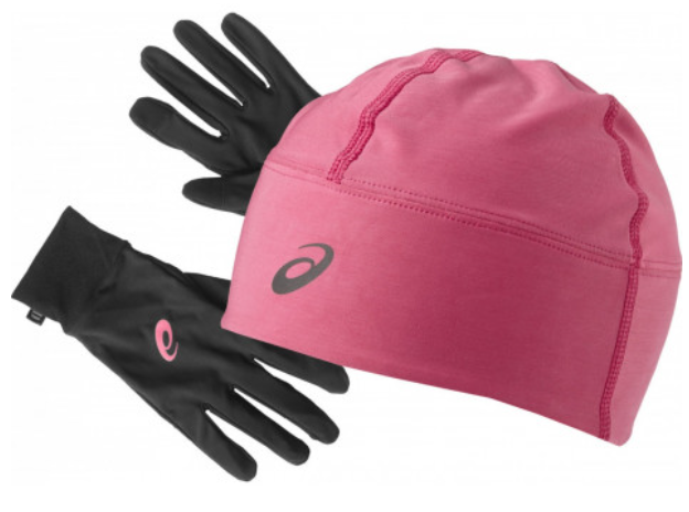 asics hat and gloves