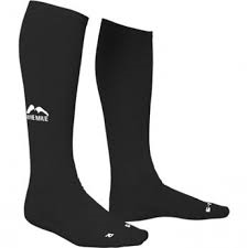 More mile compression socks black .png